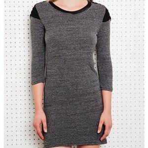 Iro Palony Sport Shoulder Dress in Gray